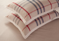 Classic Shots Beige Tartan Bedding Stripes And Plaids Bedding Luxury Bedding