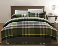 Interest And Charm Green Tartan Bedding Stripes And Plaids Bedding Luxury Bedding