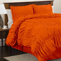 Esmeralda Orange Duvet Cover Sets