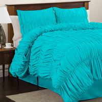 Esmeralda Sky Blue Duvet Cover Sets