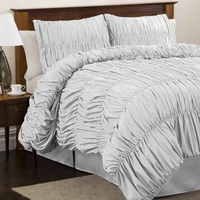 Esmeralda White Duvet Cover Sets