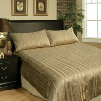 Golden Strings Duvet Cover Sets