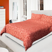 Red Coral Duvet Cover Sets