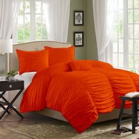 Yekarina Orange Duvet Cover Sets