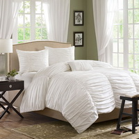 Yekarina White Duvet Cover Sets