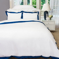 Arctic Ocean White Duvet Cover Set Luxury Bedding