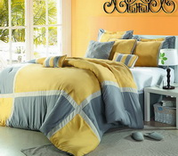 Cocktail Yellow Duvet Cover Set Luxury Bedding