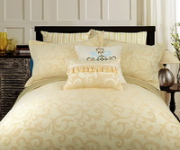 September Shangri La Yellow Duvet Cover Set Luxury Bedding