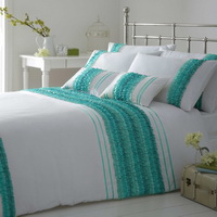 Aqua White Luxury Bedding Quality Bedding