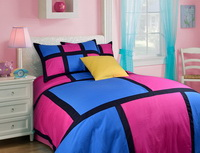 Hubert Pink Luxury Bedding Quality Bedding