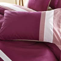 A Splash Of Red Fuchsia Modern Bedding College Dorm Bedding