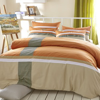 Charming Autumn Scenery Orange Modern Bedding College Dorm Bedding