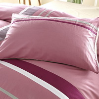 Gentle And Cultivated Pink Modern Bedding College Dorm Bedding