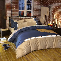 Heartstrings Blue Modern Bedding College Dorm Bedding