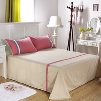 Relaxed And Happy Pink Modern Bedding College Dorm Bedding
