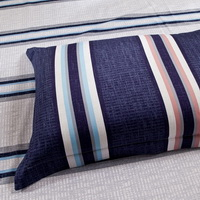 Elegant Demeanour Blue Tartan Beddding Stripes And Plaids Bedding