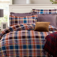 The Glorious Years Purple Tartan Beddding Stripes And Plaids Bedding