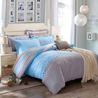 Love The Future Blue Modern Bedding Cheap Bedding