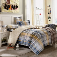 Scottish Style Blue Modern Bedding Cheap Bedding