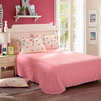 Small Fresh Pink Cheap Bedding Discount Bedding