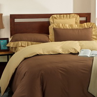 Camel And Yellow Modern Bedding Cotton Bedding
