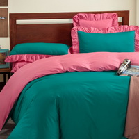 Cyan And Pink Modern Bedding Cotton Bedding