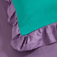 Cyan And Purple Modern Bedding Cotton Bedding