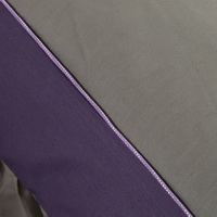 Purple And Grey Modern Bedding Cotton Bedding