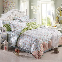 Annie Garden Green Modern Bedding 2014 Duvet Cover Set