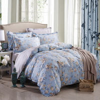 Garden Holiday Light Blue Modern Bedding 2014 Duvet Cover Set