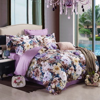 Pleasant Scent Purple Modern Bedding 2014 Duvet Cover Set