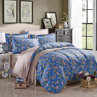 Sending Off Fragrance Blue Modern Bedding 2014 Duvet Cover Set