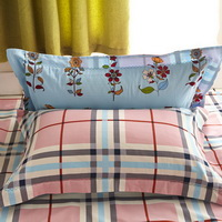 Flower Language Light Blue Cotton Bedding 2014 Duvet Cover Set