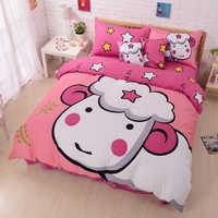 Aries Pink Duvet Cover Set Star Sign Bedding Kids Bedding