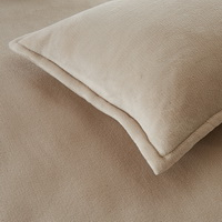 Beige Flannel Bedding Winter Bedding