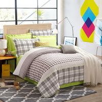 Charming Green Tartan Bedding Stripes And Plaids Bedding Teen Bedding