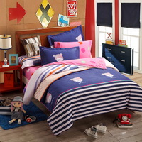 Addie Blue Teen Bedding College Dorm Bedding Kids Bedding