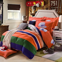 Love Story Orange Teen Bedding College Dorm Bedding Kids Bedding