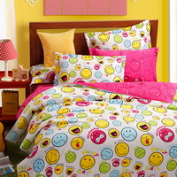 Mood Diary Yellow Teen Bedding College Dorm Bedding Kids Bedding