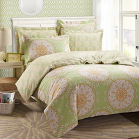 The Impression Of Seattle Green Duvet Cover Set European Bedding Casual Bedding
