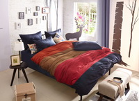 Lovers In Paris Blue Velvet Bedding Modern Bedding Winter Bedding