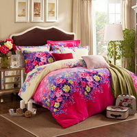 Alice Rose Flowers Bedding Flannel Bedding Girls Bedding