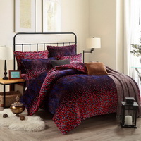 Stippling Purple Style Bedding Flannel Bedding Girls Bedding