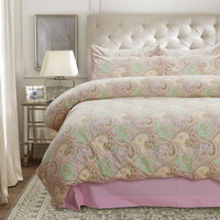 Griffith Pink Egyptian Cotton Bedding Luxury Bedding Duvet Cover Set