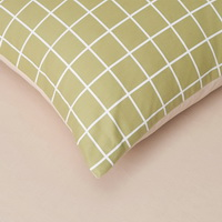 Gingham Stripes And Plaids Coffee Bedding Girls Bedding Teen Bedding Kids Bedding
