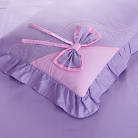 Sweet Heart Purple Bedding Girls Bedding Princess Bedding Teen Bedding