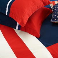 American Pie Blue Bedding Dorm Bedding Discount Bedding Modern Bedding Gift Idea