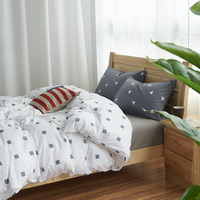 Single Men And Women White Bedding Teen Bedding Kids Bedding Dorm Bedding Gift Idea