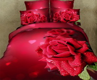Attraction And Arousal Red Bedding Rose Bedding Floral Bedding Flowers Bedding