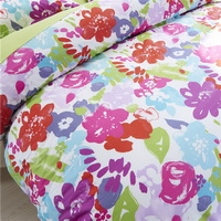 Artistic Conception Of Flowers Green Bedding Set Teen Bedding Dorm Bedding Bedding Collection Gift Idea
